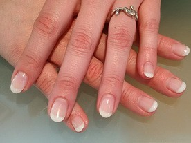 French Manicure Beautiful Nails Leuven