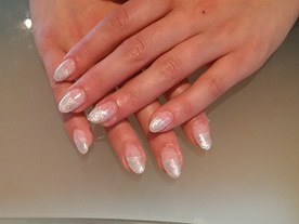Natural Glitter Beautiful Nails Leuven