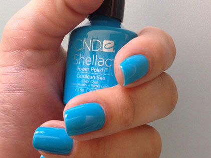 Shellac Cerulean Sea Leuven