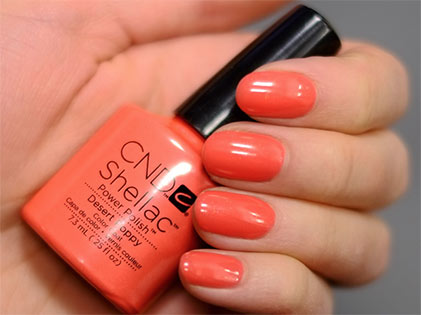 Gel Polish Desert Poppy Leuven