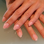 Dusty Pink gel